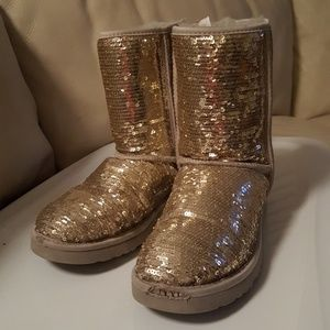 UGG Sequin Size 7 Women's Boots